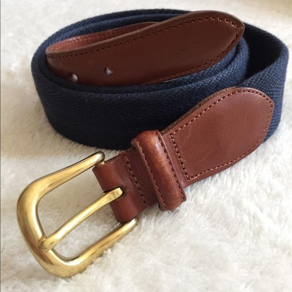 257efff435 ✨Sale✨ Men's Coach Leather & Canvas Belt